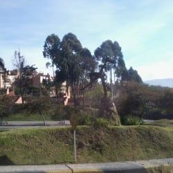 La mujer  del Columpio  en Bogotá