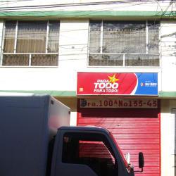Paga Todo Para Todo Carrera 100A con 133 en Bogotá