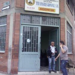 Transportadora Regional S.A en Bogotá