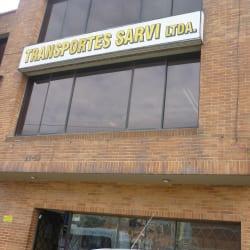 Transporte Sarvi LTDA en Bogotá