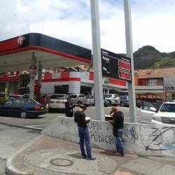Estación de Servicio Texaco Carrera 7 con Calle 69 en Bogotá