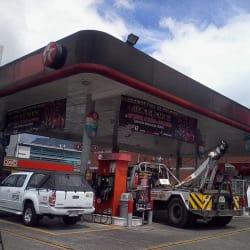 Estación de Servicio Texaco Paloquemao en Bogotá