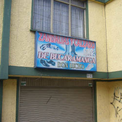 Sandalias y Calzado de Bucaramanga Don Lucho en Bogotá