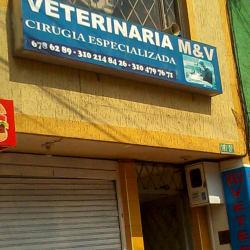 Veterinaria M& V en Bogotá
