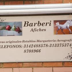 Barberi Afiches en Bogotá
