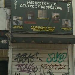 Marmoles M y R en Bogotá