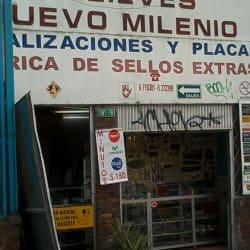 Relieves Nuevo Milenio en Bogotá