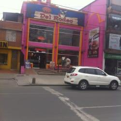 Hamburguesas del Rodeo Plaza de las Américas en Bogotá