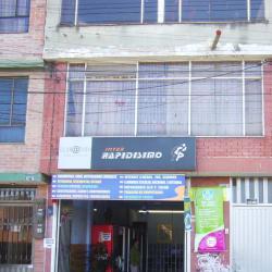 Inter Rapidísimo Carrera 115 con Calle 152B en Bogotá
