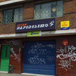 Inter Rapidísimo Carrera 72 con Calle 40 en Bogotá