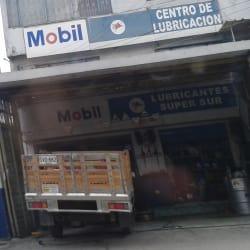 Mobil Centro de Lubricación Carrera 72 en Bogotá