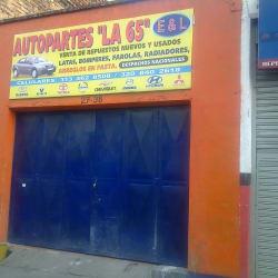 AutoParte La 65 en Bogotá