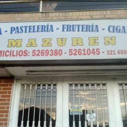 Panadería Pastelería Frutería Cigarrería Mazuren en Bogotá