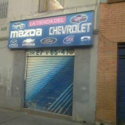 La Tienda del Mazda y Chevrolet en Bogotá