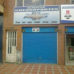 Almacen Chevroparte en Bogotá
