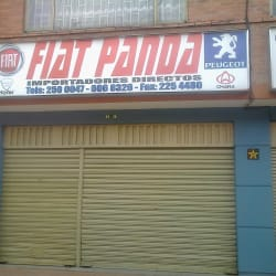 Fiat Panda en Bogotá