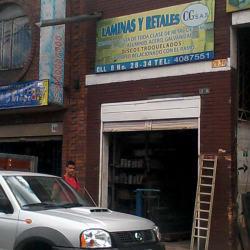 Laminas y Retales Cg S.A.S en Bogotá