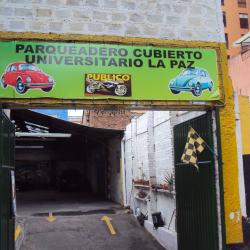 Parqueadero Cubierto Universitario La Paz en Bogotá