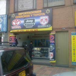 Importaciones Chevrokee y Toyota en Bogotá