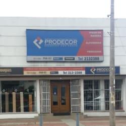Prodecor  en Bogotá