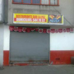 Restaurante Bar La Paz en Bogotá