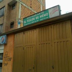 Restaurante El Fogón de Memo en Bogotá