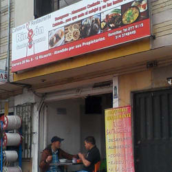 Restaurante Rincón Santandereano en Bogotá