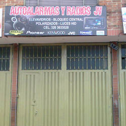 Autoalarmas y Radios Jv en Bogotá