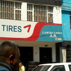 Llantas y Rines A. R en Bogotá