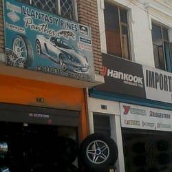 Llantas y Rines Panter en Bogotá
