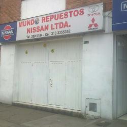 Mundo Repuestos Nissan Ltda en Bogotá