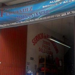 Metalmecanica Fernandez en Bogotá