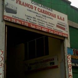 Corláminas Franco y Cardenas S.A.S en Bogotá