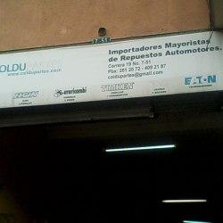 CD Coldupartes en Bogotá