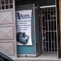 Aldana Impreseros en Bogotá