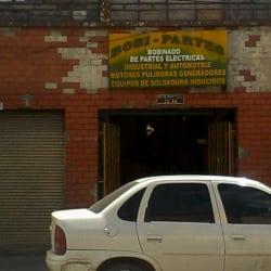 Bobi Partes en Bogotá