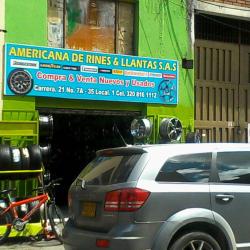 Americana de Rines & Llantas S.A.S en Bogotá