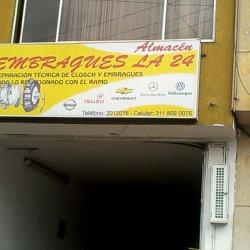 Almacén Embragues La 24 en Bogotá