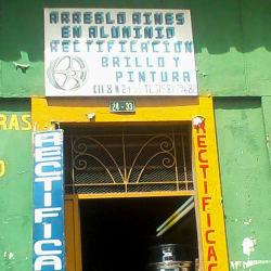 Arreglo Rines en Aluminio en Bogotá