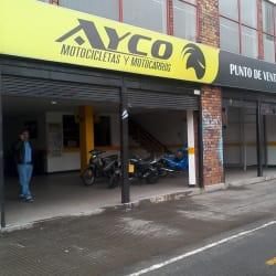 Ayco Motocicletas en Bogotá