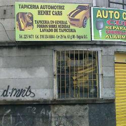Tapicería Automotriz Henry Cars en Bogotá