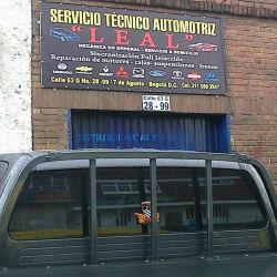 Servicio Técnico Automotriz Leal en Bogotá