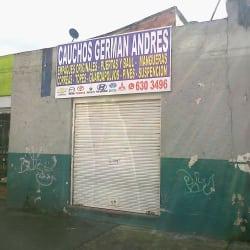 Cauchos German Andres en Bogotá