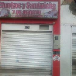 Chorizos y Sandwichs 7 De Agosto en Bogotá