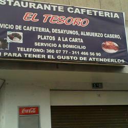 Restaurante Cafetería El Tesoro en Bogotá