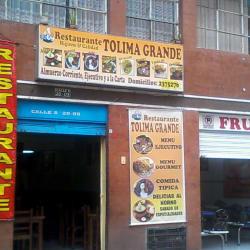 Restaurante Tolima Grande en Bogotá