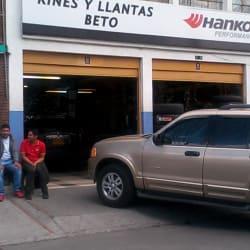 Rines y Llantas Beto en Bogotá
