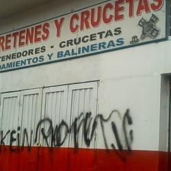Rodaretenes y Crucetas Ltda en Bogotá