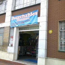 Desechables Miscelánea  en Bogotá