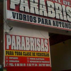 Vidrios Omniautos en Bogotá